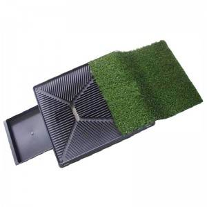 Grass mat Non-toxic Synthetic Grass 3-piece Dog Relief System