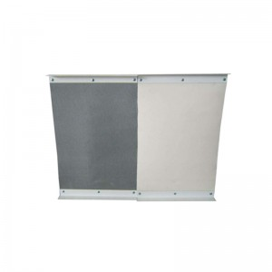 Smoke curtain wall cloth