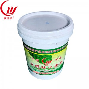 Cable fire retardant coating