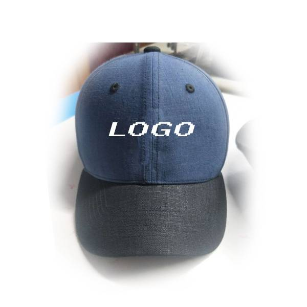 custom Natural fiber Eco-Friendly Cannabis sativa 100% Hemp embroidery Sports Caps Baseball cap Featured Image