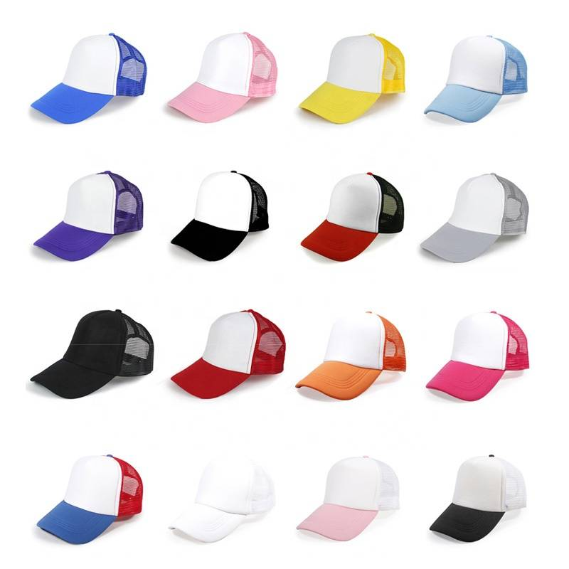 Custom Plain Gift Foam Mesh Trucker Hat Cap for Printing