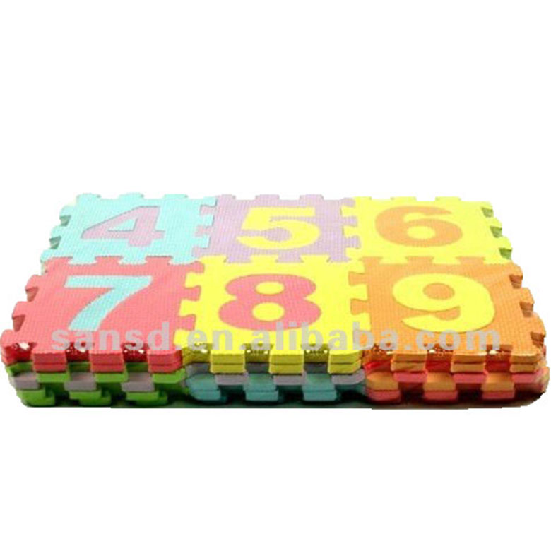 Numbers Puzzle Learning Foam Mats