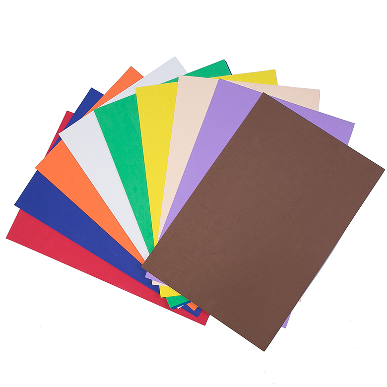 Hot sale colorful closed cell thin EVA sheet foam material