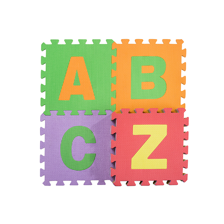 Nonslip eva foam alphabet puzzle jigsaw baby mat for children education