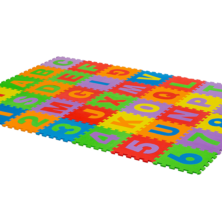 Factory price non slip puzzle interlinking learning foam mats for kids