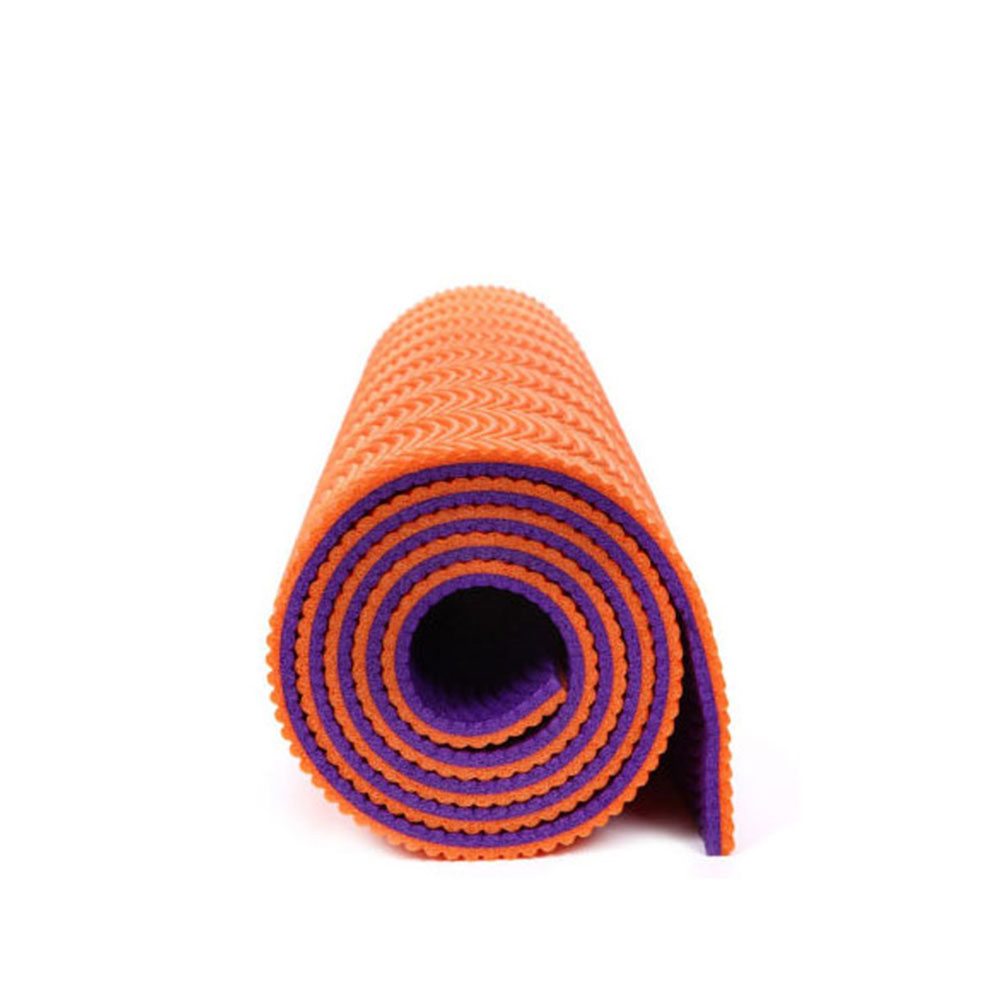 Factory cheap price manufacturer high quality comfort double color TPE yoga mat