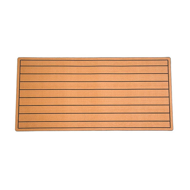 High quality custom foam marine light brown faux teak eva foam marine polyurethane foam