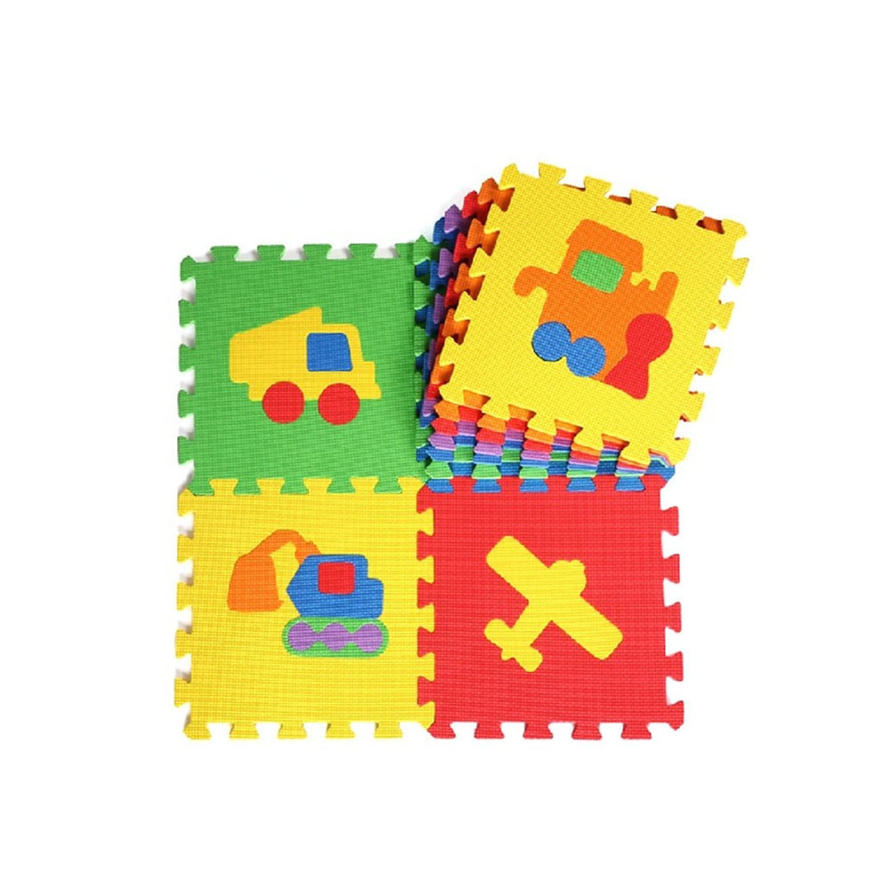 Environmental various style custom service non-slip eva soft floor puzzle baby playing baby crawling mat