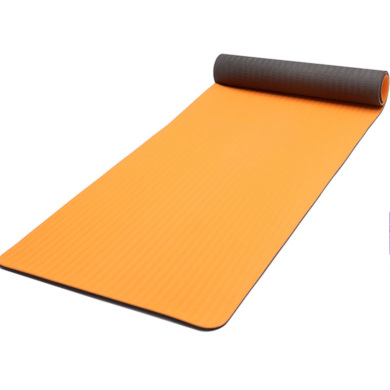 Wholesale Dealers of Laminated Camouflage Yoga Mat - Factory wholesale custom print double layer pilates workout   TPE non slip yoga mat – WEFOAM