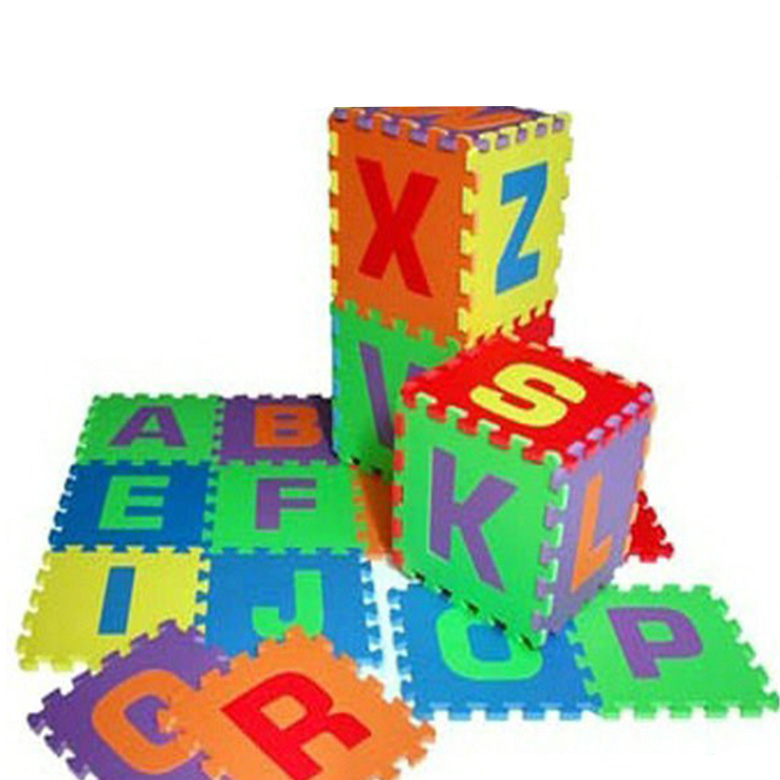 High quality alphabet educational cartoon animal eco friendly eva foam educational floor baby play puzzle mat
