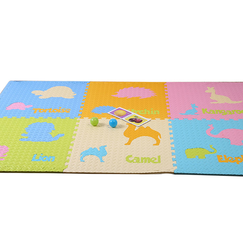 Factory wholesale functional interlocking EVA alphabet puzzle indoor playing baby foam floor mats