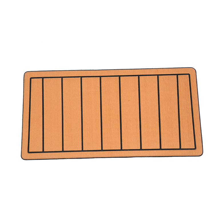 Wholesale custom non skid boat decking material marine rubber deck flooring mat for boat flooring