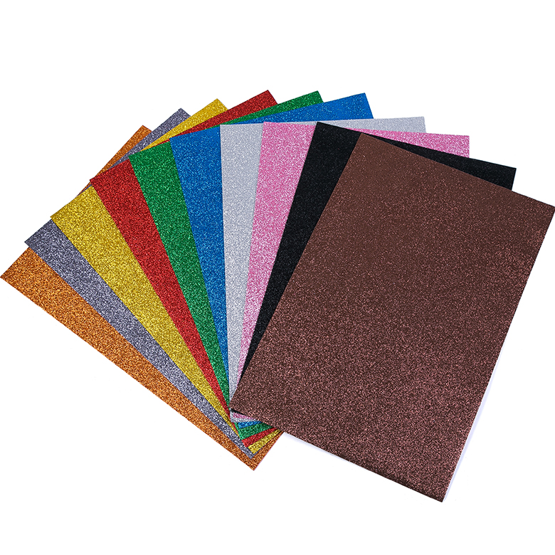 Thick Color craft for Children DIY glitter EVA foam sheet Featured Image