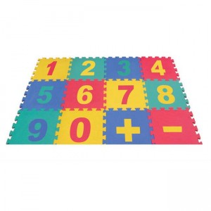 early learning EVA interlocking foam tatami jigsaw mat number pattern for early learning soft mat small pieces number mat