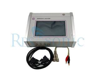Touch Screen Ultrasonic Welding Tool Impedance Analyzer Horn Analysis