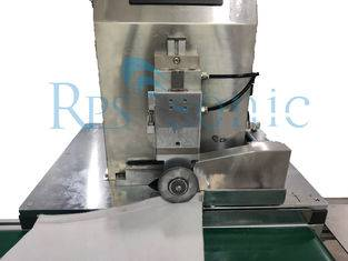 Ultrasonic Filter welding machine with rotary ultrasonic tool continues welding