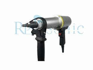 20khz high amplitude ultrasonic impact treatment stress relief on weld