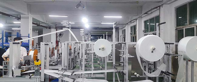 Our company successfully developed mask machine