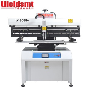 Newly Arrival General Conveyor - 1.2M LED Solder Paste Stencil Printer W-3088A Semi-automatic Stencil Printer – WELDSMT