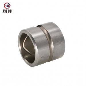 Porous iron base bushing