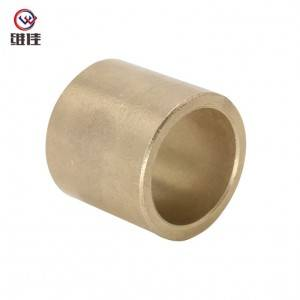 OEM/ODM Factory Rubber Bushing With Metal Insert - Sintered Cu663 Bushings Back to Back Taper Roller Bearings – Welfine