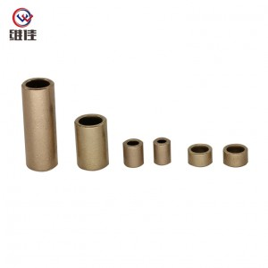 2018 wholesale price Drilling Bushing - Made in China Powder Metallurgy Parts in  Automobiles Copper Sleeve and Bearings – Welfine