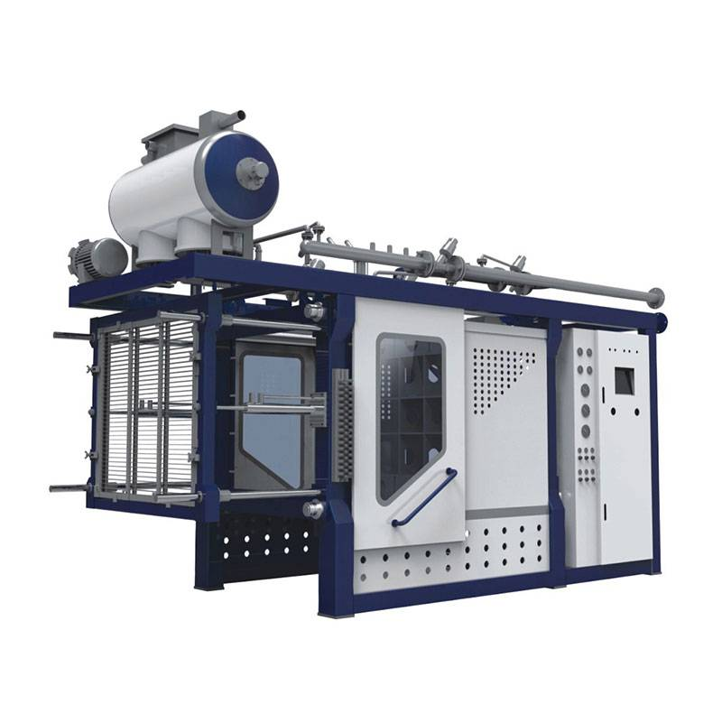 Auto Shape Molding Machine With Vacuum
