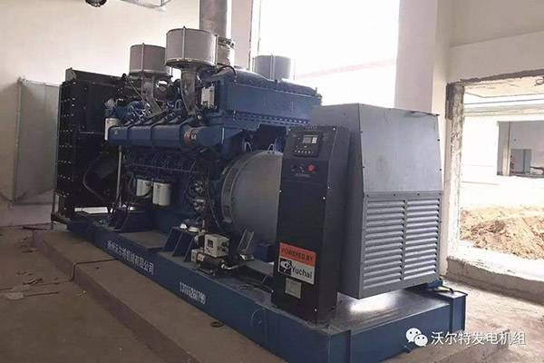 Walter 1200KW diesel generator sets arrive at Jingdong Logistics Park