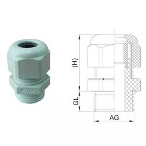Nylon Cable Gland (Metric/PG/NPT/G thread)