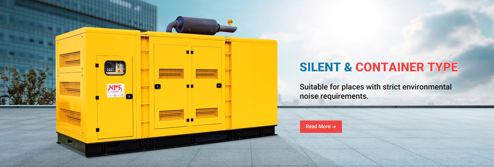 Silent / Container Type Gas Generator Set