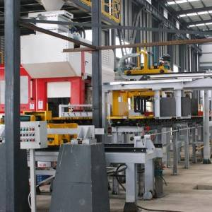 Horizontal Flaskless Moulding Line