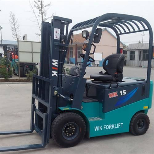 1.5 ton full AC electric counterbalanced forklift