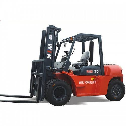 What should we pay attention to when using forklift trucks?