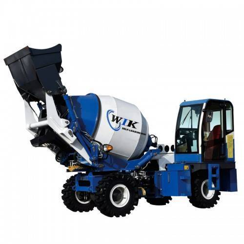 What kind of self loading concrete mixer is better?
