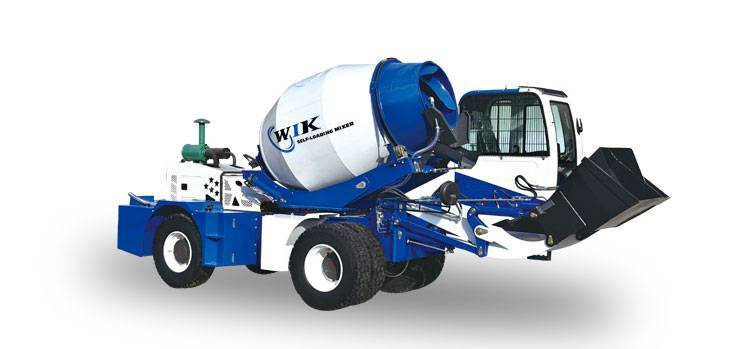 WIK 6800 Self Loading Concrete Mixers