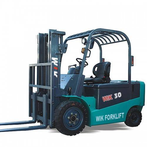 3 ton full AC electric counterbalanced forklift
