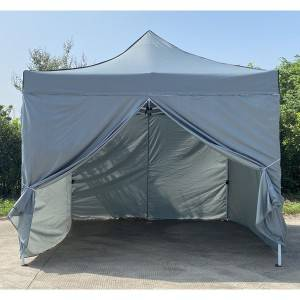 Outdoor Deluxe Steel Frame Folding Tent 10′x10′