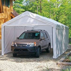 Outdoor Portable Car Shelter 3x6m