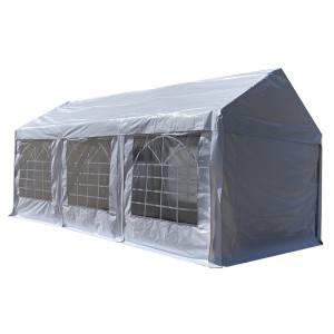 New arrival heavy duty white 3x6m PVC party tent with full set of sidewalls