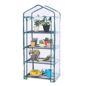 4-tier mini greenhouse for garden