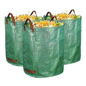 3-Pack Durable and reusable Garden Waste Bag 72 Gallons