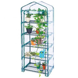 5-tier  mini greenhouse PVC film garden green house