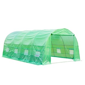 Walk-in Tunnel Plastic Greenhouse Agriculture 3x6m