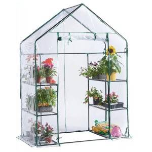 3-tier  Walk-in mini greenhouse PVC film garden...