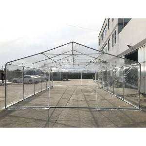 6x12m  Clear PVC Film Party Tent Transparent Fi...