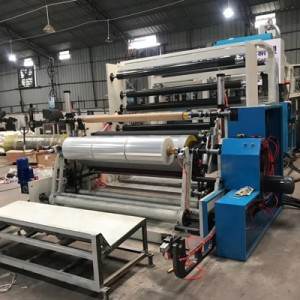 New Design five layer stretch film machine