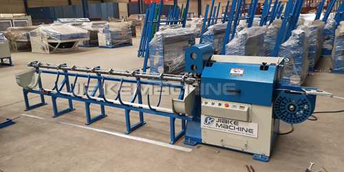 Wire straightening& cutting machine