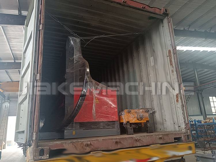 Export of welded wire mesh machine to Thailand