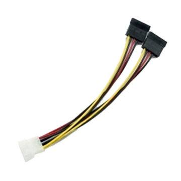 Molex IDE to dual SATA Power Adapter Y Cable Featured Image