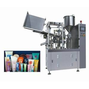 Tube Internal Heating Filling and Sealing Machine